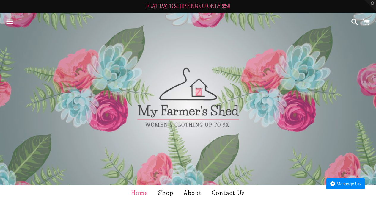 My Farmer's Shed Website